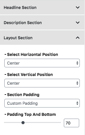 layoutSection HeaderImageBlock - layoutSection HeaderImageBlock
