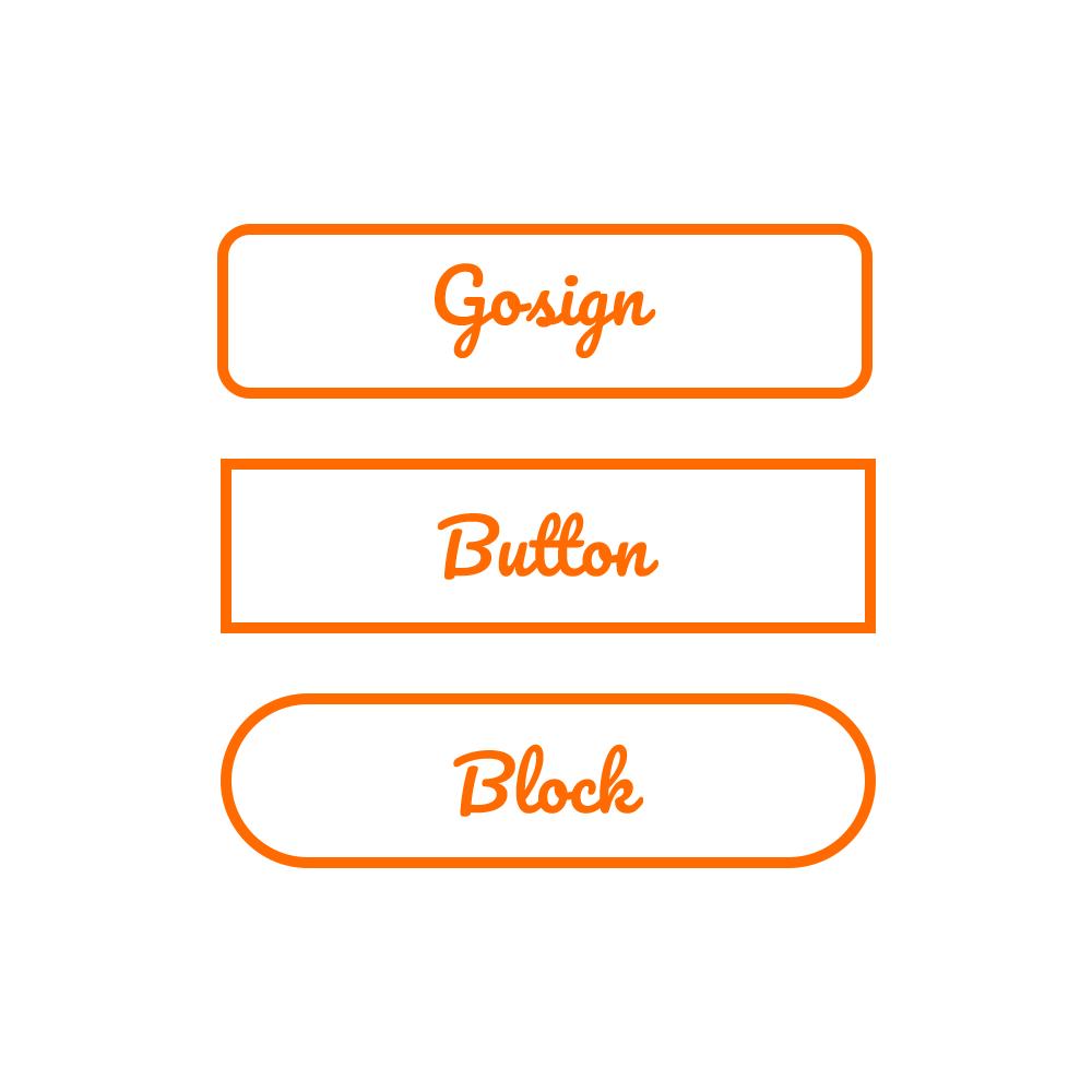 - logo button block